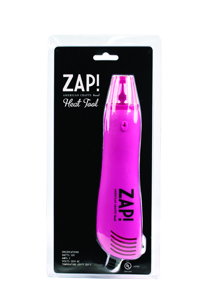 Tools punches for American crafts zap embossing heat gun